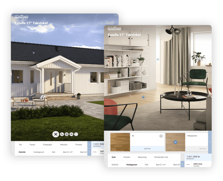 Älvsbyhus house configurator