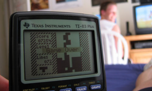 Graphing Calculators: Game Boys for Math