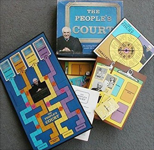The People's Court board game