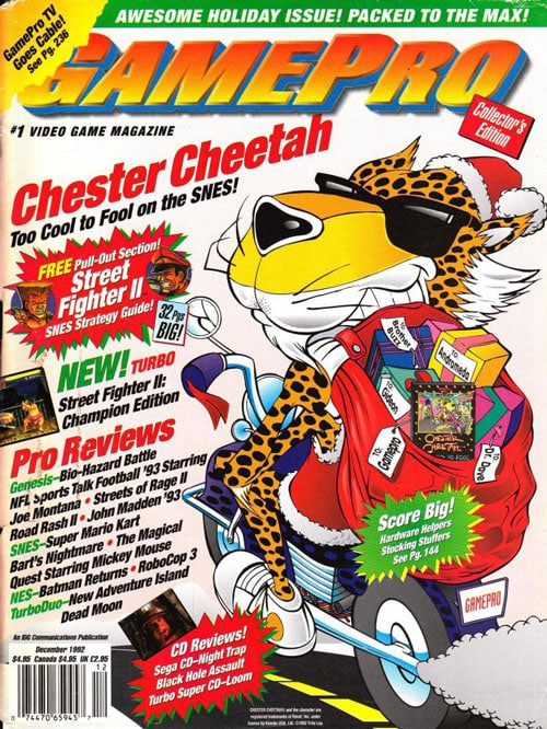Chester Cheetah GamePro Cover