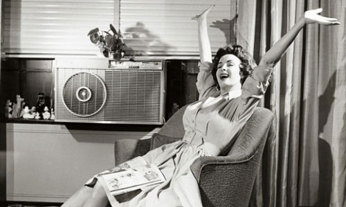 Air conditioning ad