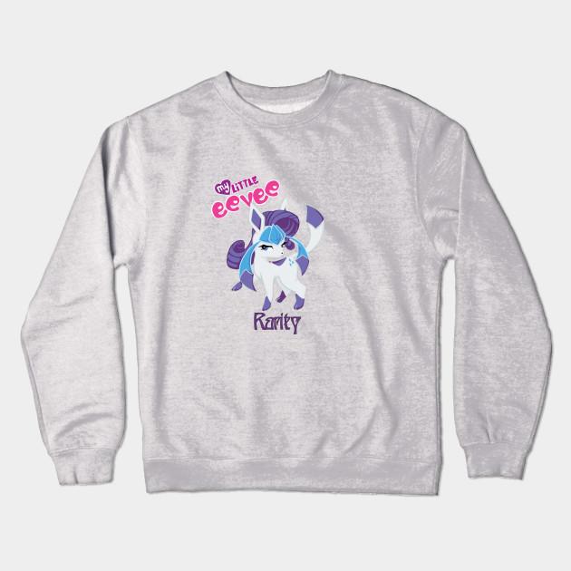 0fa625bb Rarity the Glaceon - Kawaii - Crewneck Sweatshirt | TeePublic