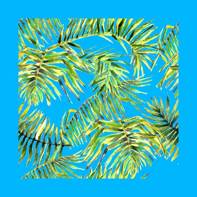 Seamless Watercolor tropic