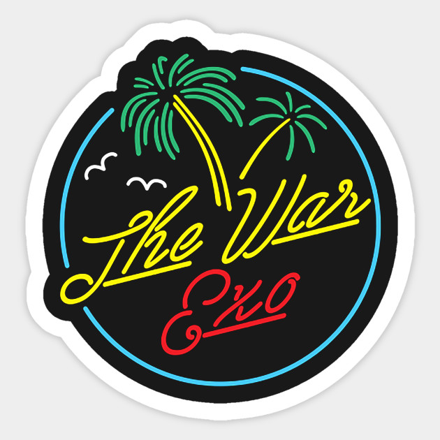 Exo the war sticker