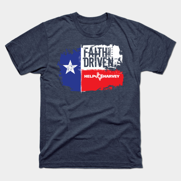Hurricane Harvey 2017 Design1 T-Shirt-TOZ