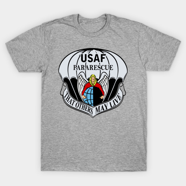 Usaf Pararescue Logo Usaf Pararescue Logo T Shirt Teepublic