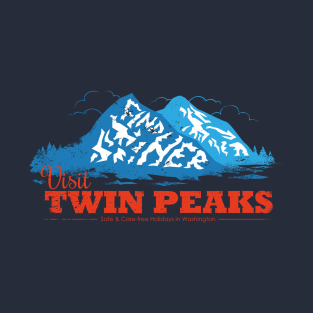 Twin Peaks Visitor t-shirts