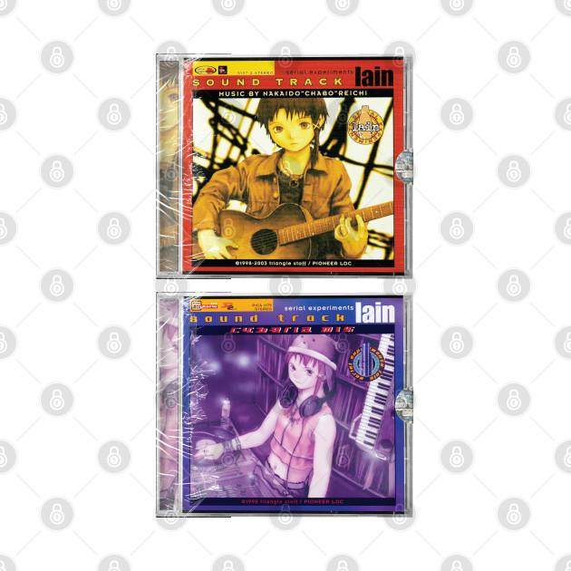 Serial Experiments Lain Soundtrack CDs