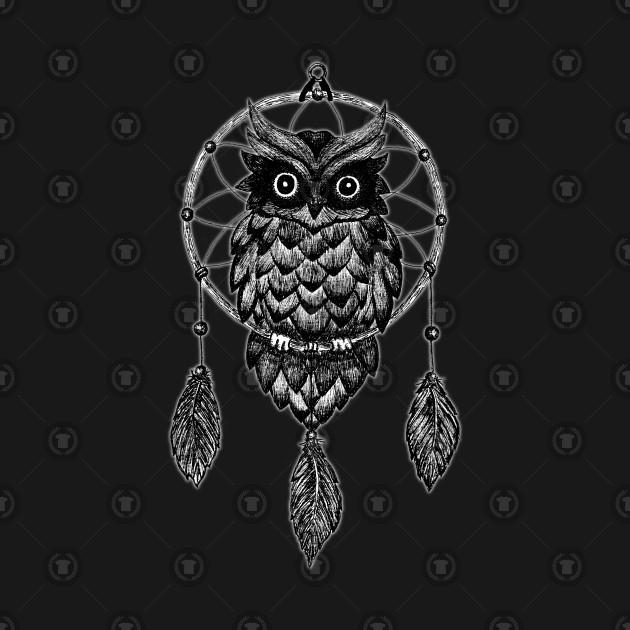 Owl Dream Catcher BIG SIZES Reusable Stencil Wall Decor Mandala Bohemian GEO3