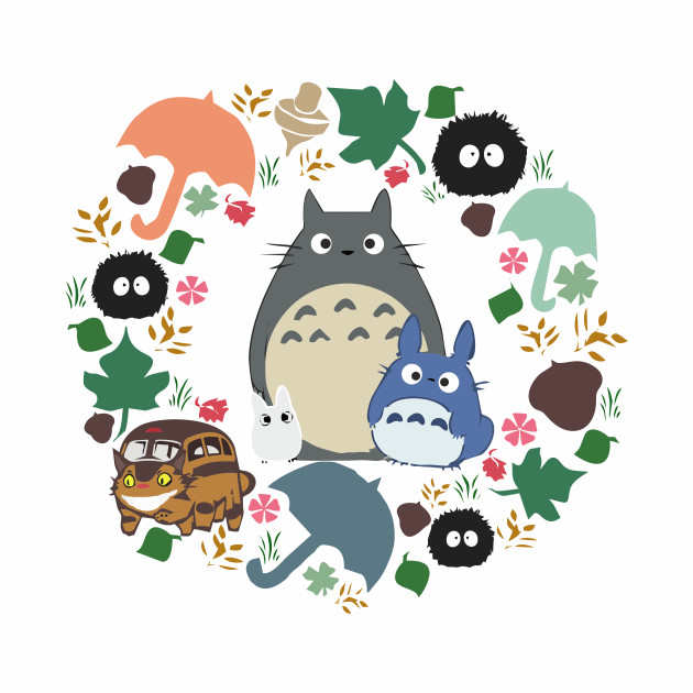 Totoro and neighbours