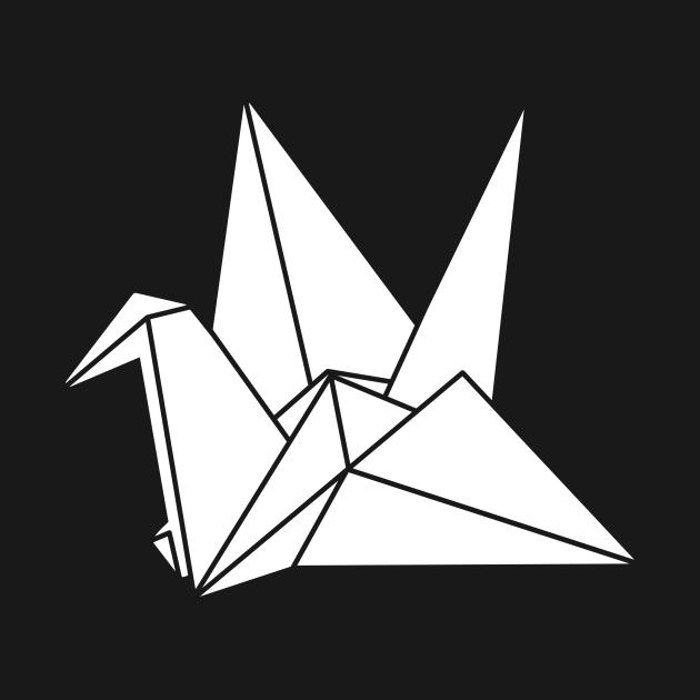 Japanese Origami Bird Design