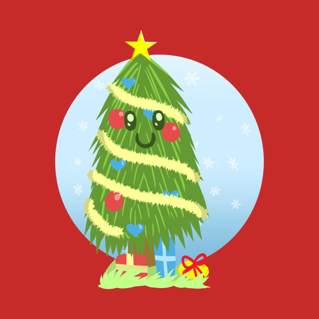 Happy Christmas Tree With Presents Merry Christmas T Shirt