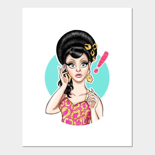 BenDeLaCreme Drag Race Art Print Poster