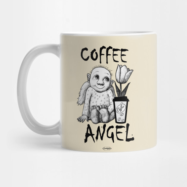Coffee Angel Funny T Shirt Perfect Gift On Birthday Or Special Day For