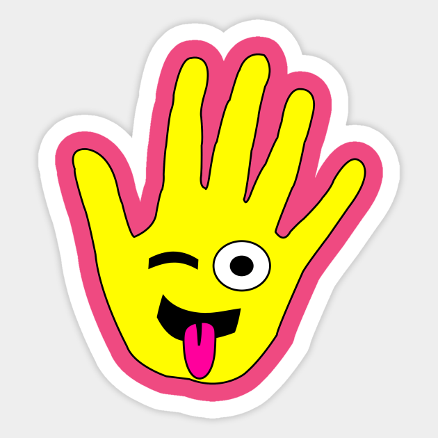 nwgyxp7 vsmoam https www teepublic com sticker 1622208 high five my face