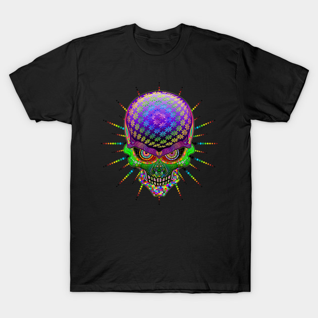 Crazy Skull Psychedelic Explosion