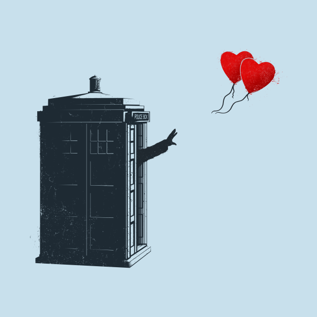 Doctor with Heart Balloons