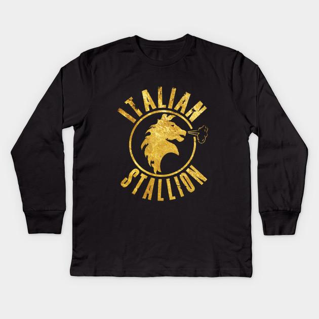 Rocky The Italian Stallion Kids T-Shirt