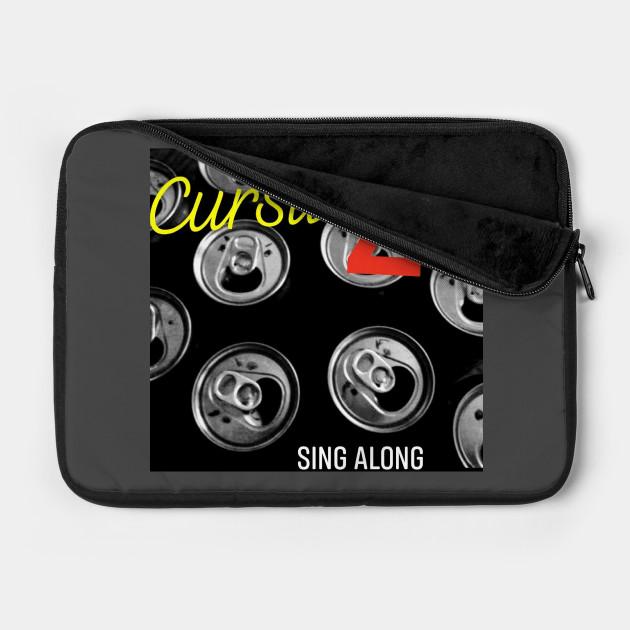 Sing Along Cursive Z Punk Rock Lima Ohio Laptop Case Teepublic