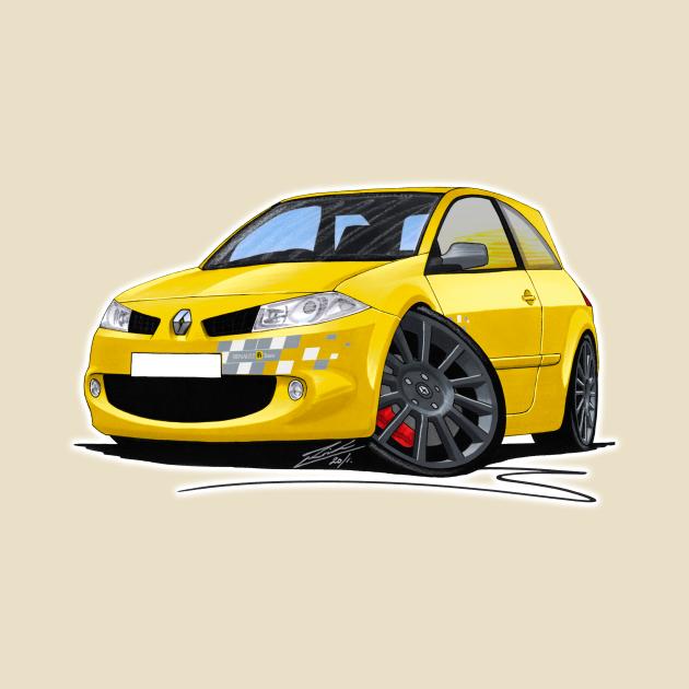 RenaultSport Megane 230 R26 Yellow