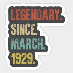90th Birthday Gift For Mom Stickers