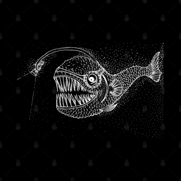 Fish from depths dark