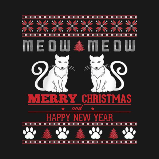 Meow Meow Cat Ugly Christmas