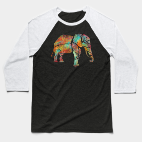 c6f4e484312e Elephant Baseball T-Shirt. by JulieLukeArtwork.  26. Main Tag Safari ...