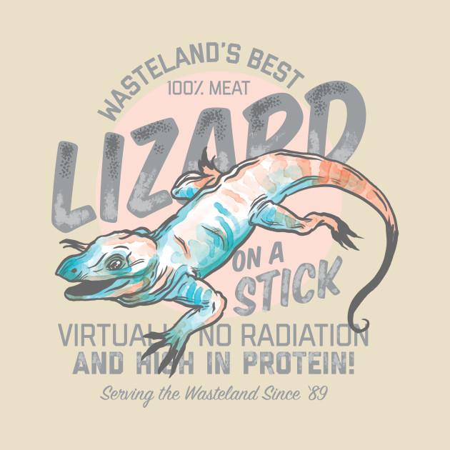 Wasteland's Best Lizard on a Stick