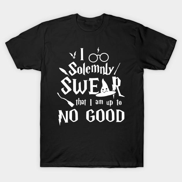 Harry Potter T-shirt Solemnly Swear Women/'s Black