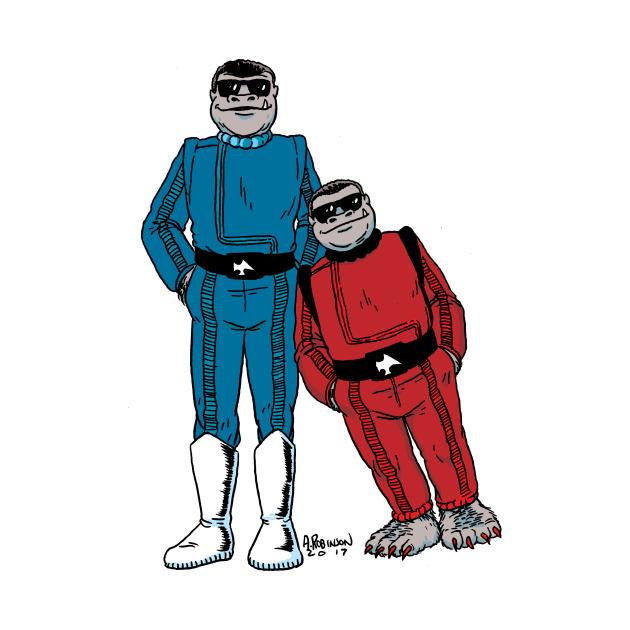 Snaggletooth Twins
