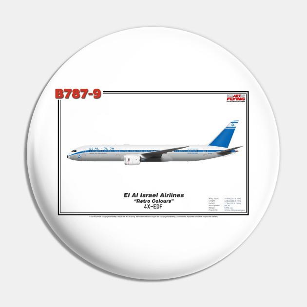 El Al Airlines Retro Logo Israeli Airline Hoody