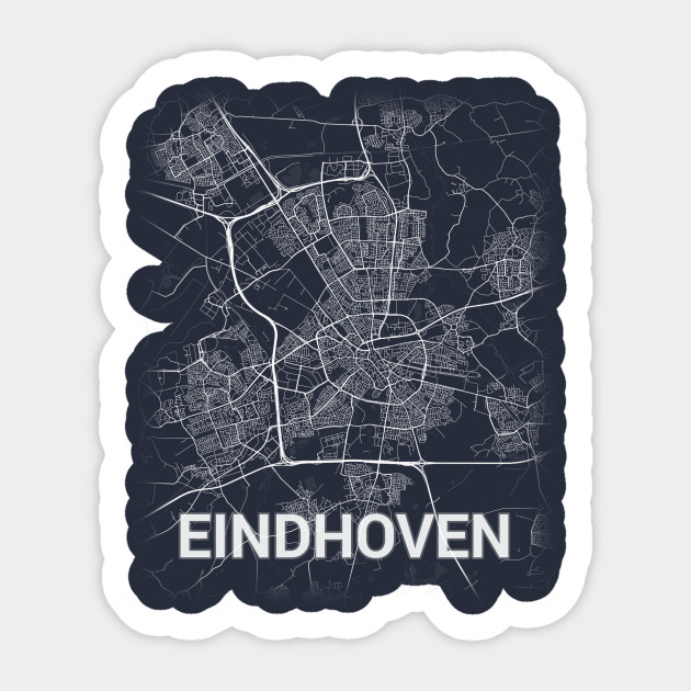 Eindhoven Nederland Netherlands Noord-Brabant City Map