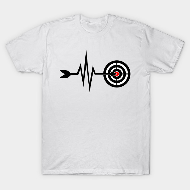 cf571c11e My Heart Beats For Archery - Arrow Bow - Funny Archery Gift - T ...
