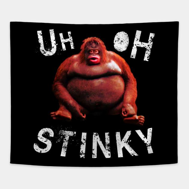 Télécharger Le Monke Uh Oh Stinky Meme | Blageusmo