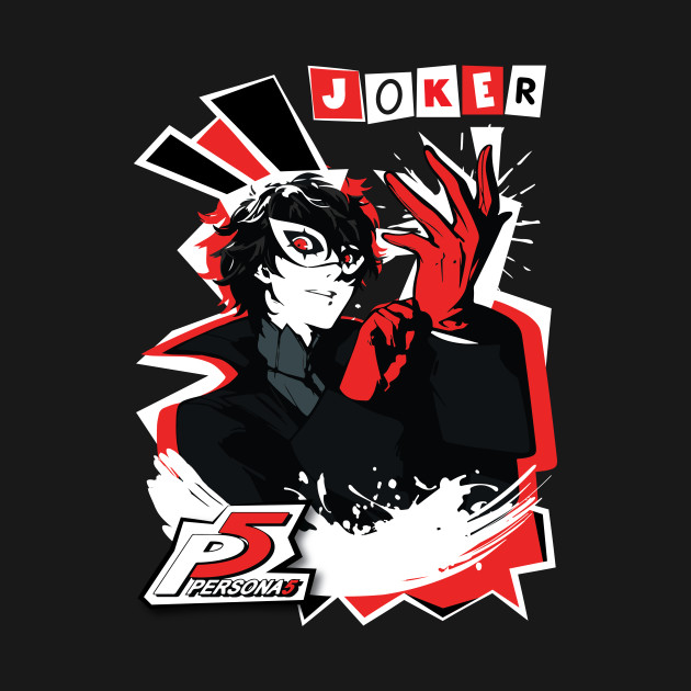 Persona 5 joker persona 5 phone case teepublic for Home by johker design