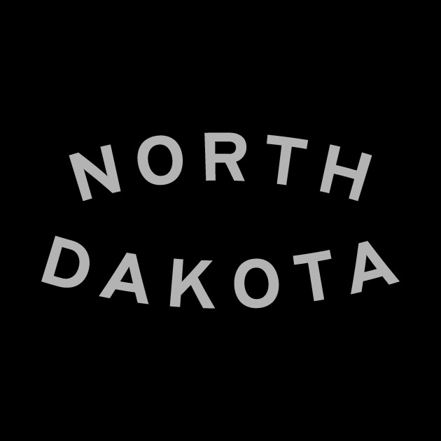North Dakota Typography