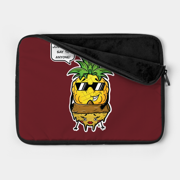 Pineapple Hawaii Pizza Funny