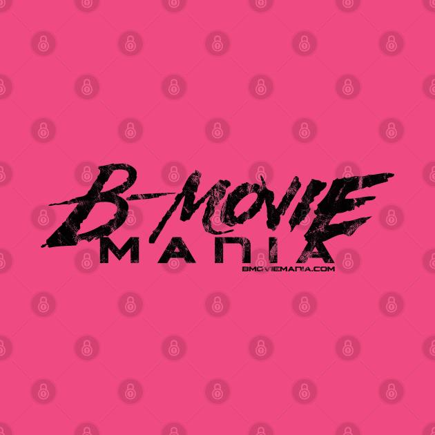 B-Movie Mania Black Logo