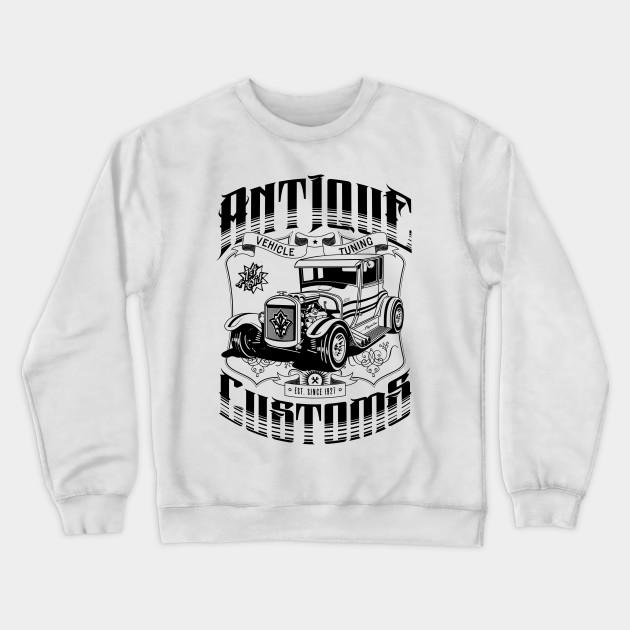 Hot rod Hoodie Custom Drag Racing Race American V8 Vintage Custom Classic Car