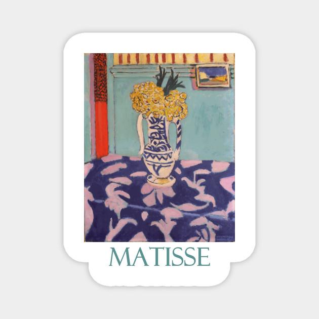 Les Coucous Tapis Bleu Et Rose By Henri Matisse Matisse Magnet