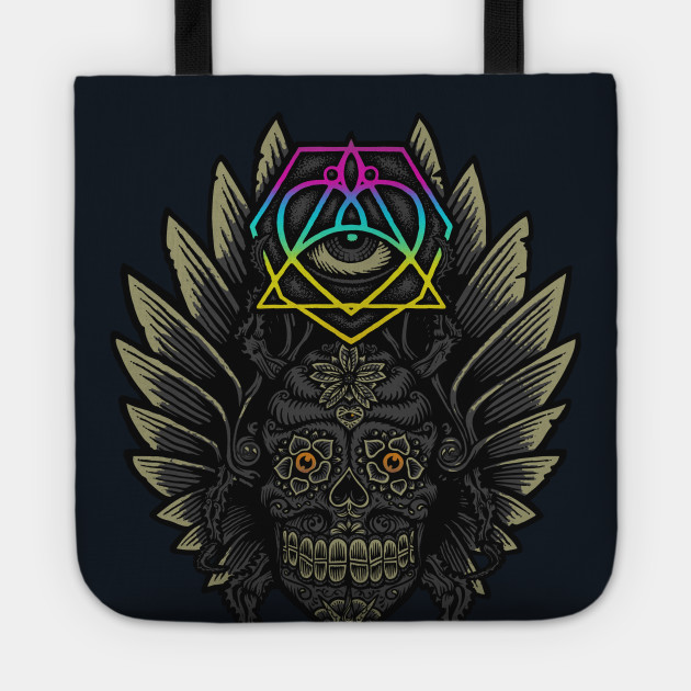 Winged Skull Scarab - Colors