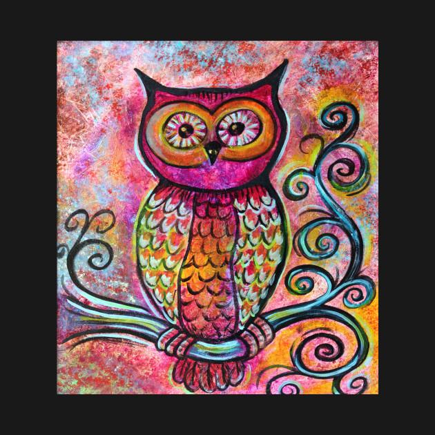 whimsical owl owl artwork kids t shirt teepublic