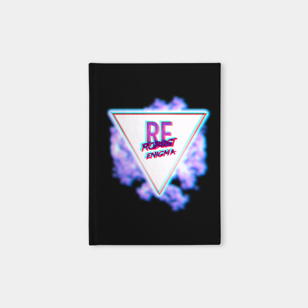 Red/Blue 3D Vaporwave Logo