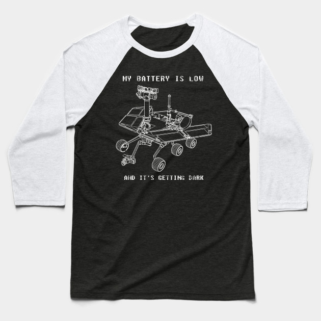 40c6cf4f1 Mars Rover Opportunity - NASA Science Shirt - Mars Rover - Baseball ...