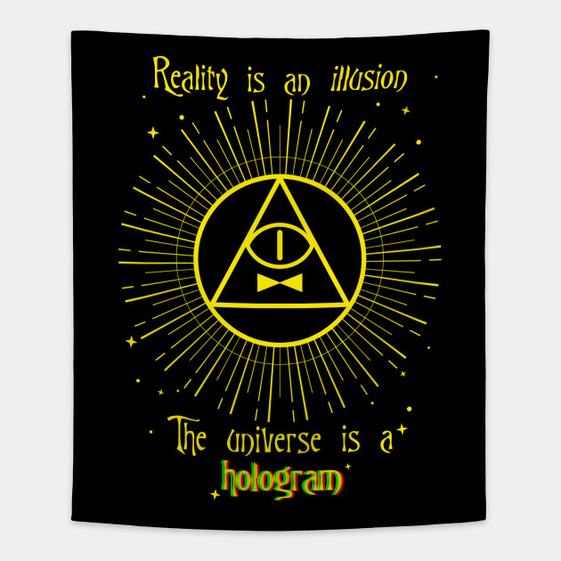 Bill Cipher Quote Bill Cipher Tapestry Teepublic