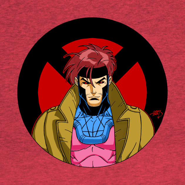 Gambit 'X Series' X-Men Shirt Marvel Comics Wolverine Deadpool