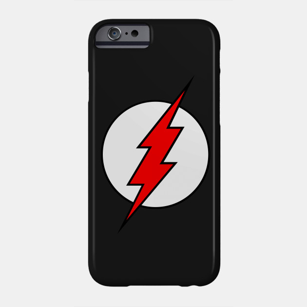 Black Flash Logo Phone Case