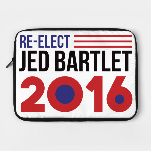 Re-Elect Jed Bartlet 2016 (Flag)