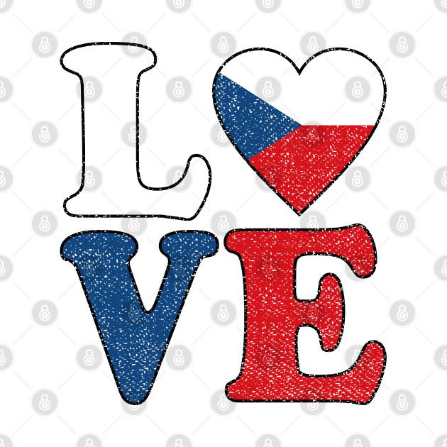 Love Czech Republic Flag Czech Pride